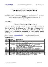 Car-HiFi-Installations-Guide - Selfmadehifi.de
