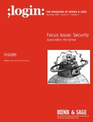 inside: Focus Issue: Security