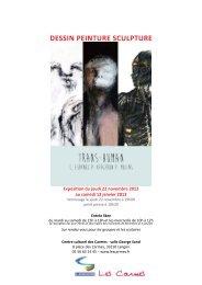 Regardez le dossier de l'exposition - Centre Culturel des Carmes