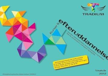 Det nye kursuskatalog - Tradium