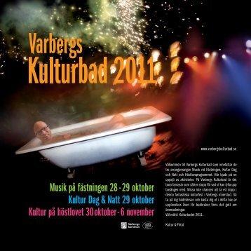 Kultur Dag & Natt 29 oktober Musik på fästningen 28 - 29 oktober ...