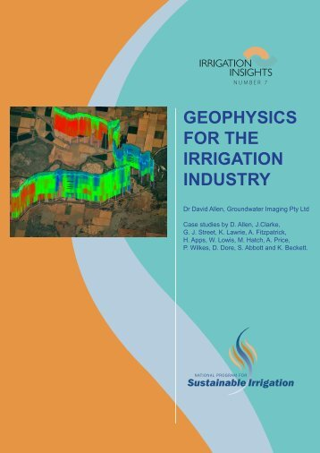 Geophysics for the irrigation industry - National Program for ...