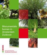 opmaak bomemboek ZO wt.indd - Stadsdeel Zuidoost - Gemeente ...