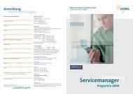 Lehrgang Servicemanager - Impuls-consulting.de