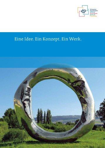 Eine Idee. Ein Konzept. Ein Werk. - Schweizer Paraplegiker-Gruppe