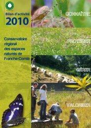 Télécharger le bilan 2010 - Conservatoire d'Espaces Naturels de ...