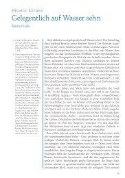 Helmut Lethen: Gelegentlich auf Wasser sehn. Benns Inseln (PDF)