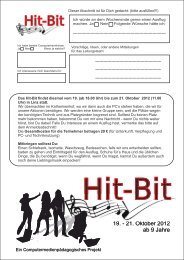 Hit-Bit 2012-Ausschreibung - Evangelische Trinitatis ...