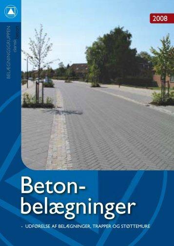 Beton- belægninger - Dansk Beton