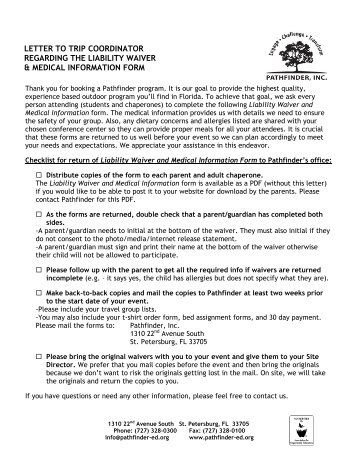Medical Waiver Form Printable Medical Waiver Form Printable