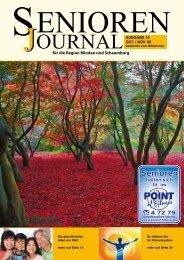 Ausgabe 15 - Okt. / Nov. 2009 - Senioren Journal
