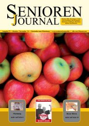 Ausgabe 27 - Okt. / Nov. 2011 - Senioren Journal