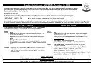 Uniform Requirement Flyer - Drayton State School