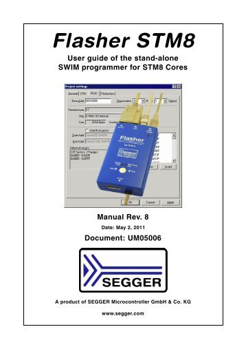 flasher stm8.pdf - SEGGER Microcontroller