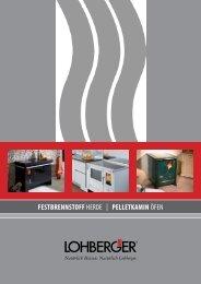 Lohberger einen Herd - Seidel und Eckert GmbH und Co.KG