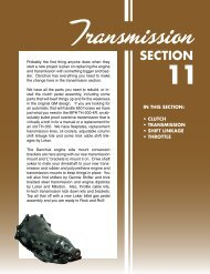 Transmission SECTION - Danchuk