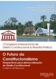 O Fututo do Constitucionalismo - Caderno de Resumos [2014][l]