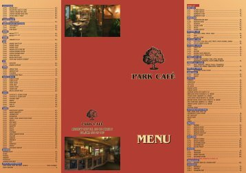 See the menu - Prague TV