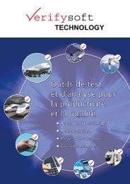 Brochure de l´entreprise - Verifysoft Technology GmbH