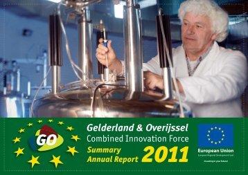 GO-Jaarverslag 2011-Samenvatting-Engels-D10.indd
