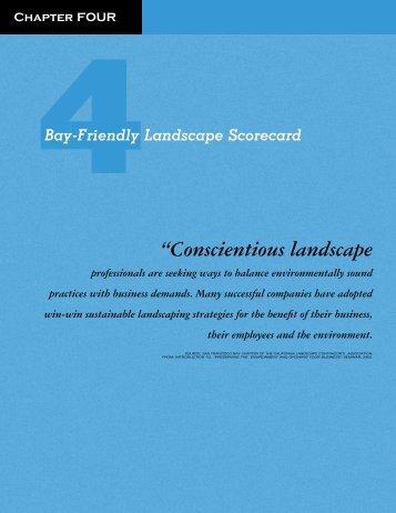 """""""Conscientious landscape - StopWaste.org"""