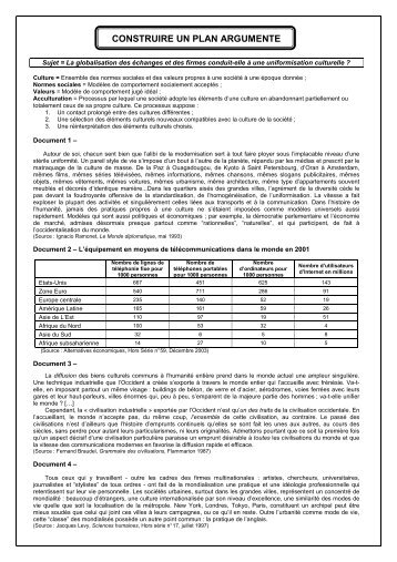 sujet dissertation oaea