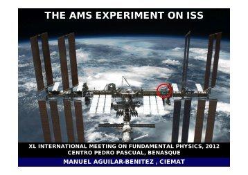 AMS-02 - Particle Physics at CIEMAT