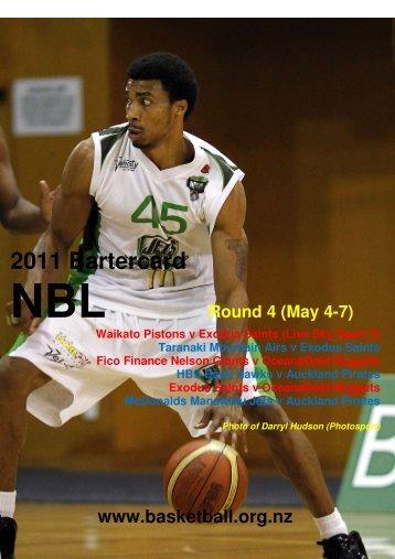 2011 Bartercard - Basketball New Zealand