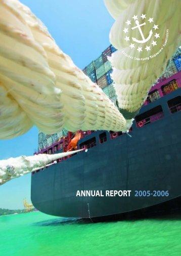 Rapport ECSA 2005-06 OK