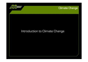 Climate Change presentation - The Macaulay Land Use Research ...
