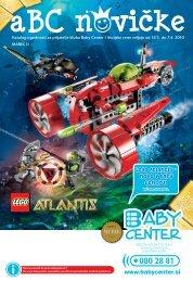 Lego Atlantis - novo v Baby Centru! - Baby Center
