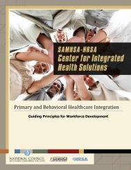 Primary and Behavioral Healthcare Integration - UCLA Integrated ...