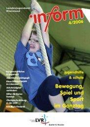 Ausgabe 4/2006 - Landschaftsverband Rheinland
