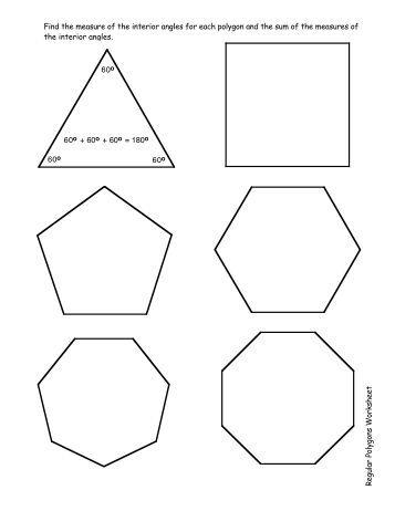 Regular Polygons and Angle Relationships