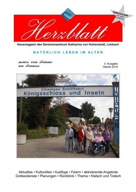 Herzblatt Seniorenzentrum Katharina Von Hohenstadt