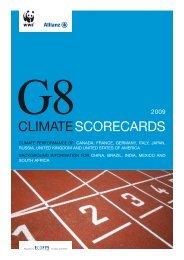 G8 Climate Scorecards 2009 - Allianz