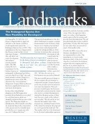 Landmarks Newsletter - Benesch