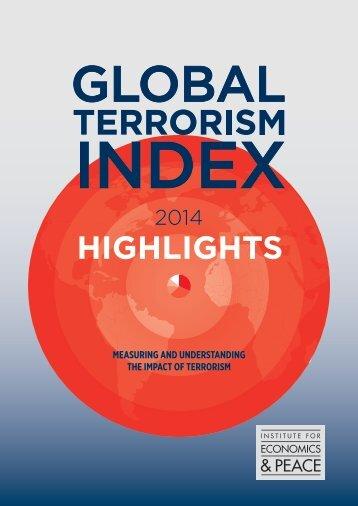 Terrorism Index Facts