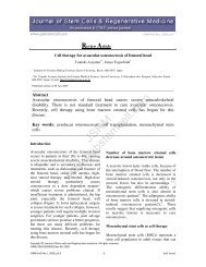 PDF - Journal of Stem cells & Regenerative Medicine