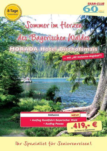 Sommer im Herzen des Bayerischen Waldes - SKAN-TOURS ...