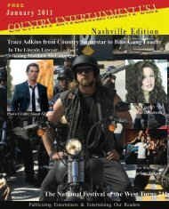 2011 January Issue - Country Entertainment USA
