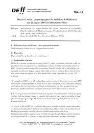 Referat af møde 16 i AM - DEFF
