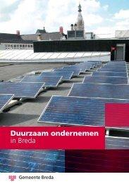 Duurzaam ondernemen in Breda - Gemeente Breda