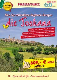 609,- € NEU! - SKAN-TOURS Touristik International GmbH