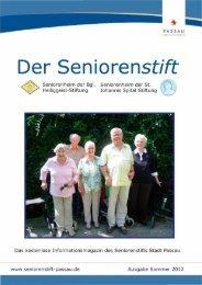 Der Seniorenstift - Seniorenstift Stadt Passau
