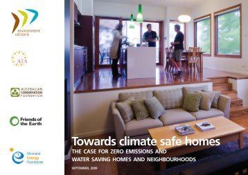 Towards climate safe homes - Australian Conservation Foundation