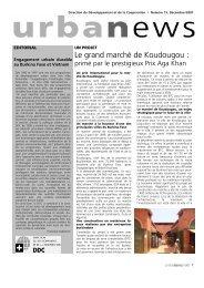 Le grand marché de Koudougou - Cooperation at EPFL