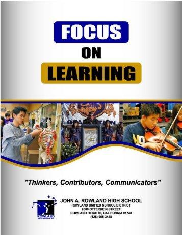 WASC Self Study 2013.pdf - Rowland High School