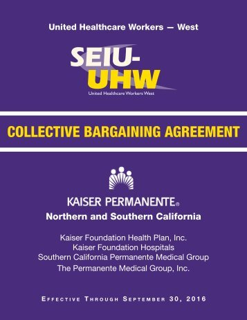 Domestic Partnership  CirSeiu Healthcare