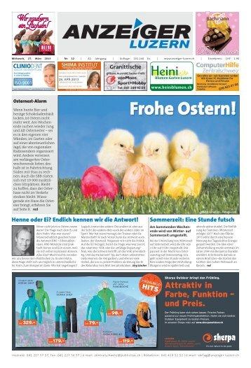 Anzeiger Luzern, Ausgabe 12, 27. März 2013